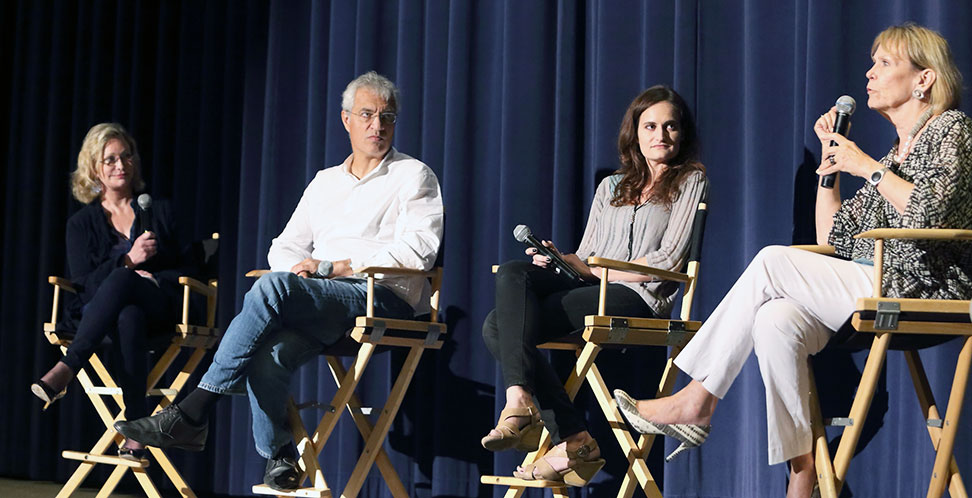 panel at racing extinction screening