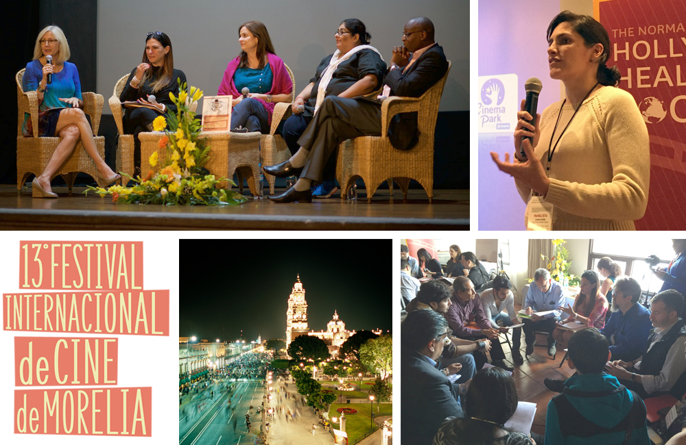 images of scenes from morelia film festival