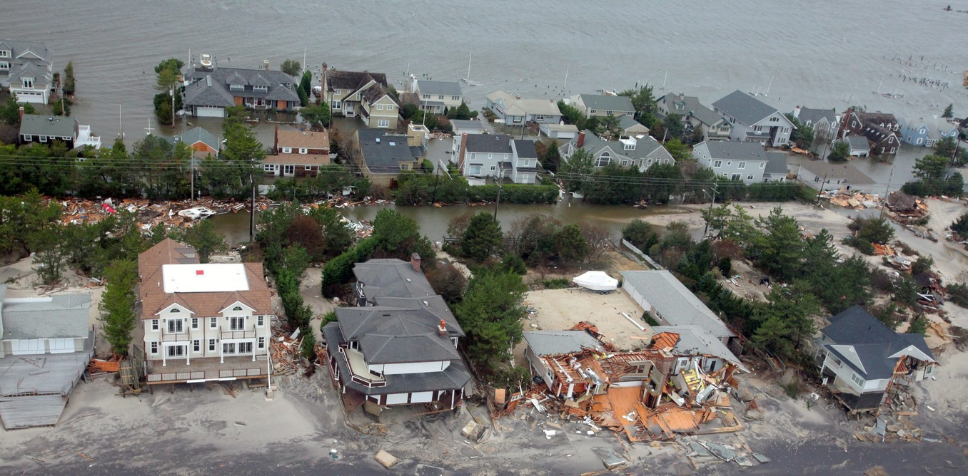 homes damaged in superstorm sandy