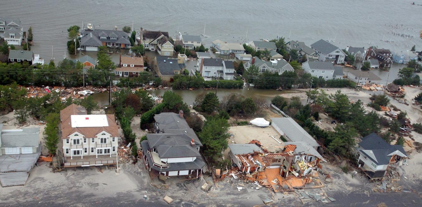 homes damaged in superstorm sandy