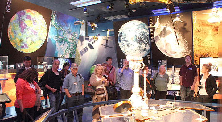 nasa-jpl storybus tour / von karman visitors center