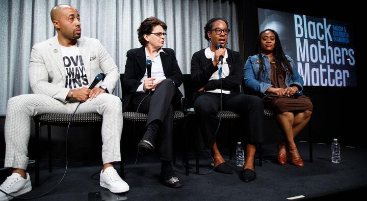 Black Mothers Matter panel members