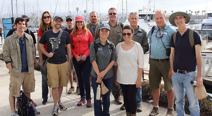 storybus tour group at ventura harbor