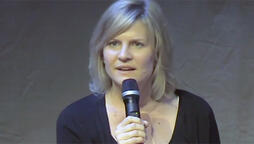 carol barbee during south africa panel