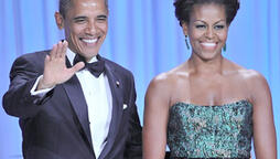 President and Michelle Obama