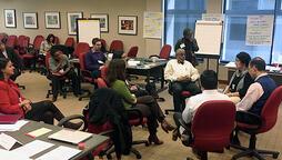 summit meeting at robert wood johnson foundation headquarters