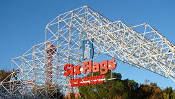 Environmental groups allege that they have linked river pollution to the Six Flags Magic Mountain amusement park.